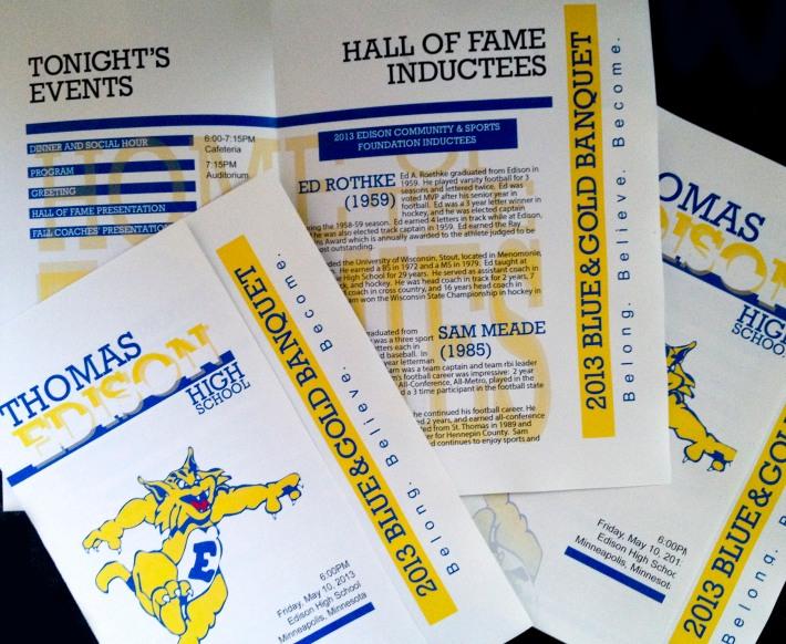 EHS MVP Banquet Program